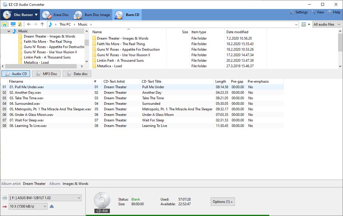 برنامج تحويل الصوت ونسخ اقراص الاوديو EZ CD Audio Converter 7.1.4 scrshot_3.png